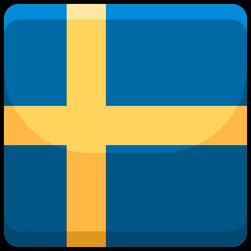 Bild på en svensk flagga